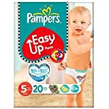 Pampers Easy Up Paquet de 20 couches culottes Taille 5 (12-18 kg)