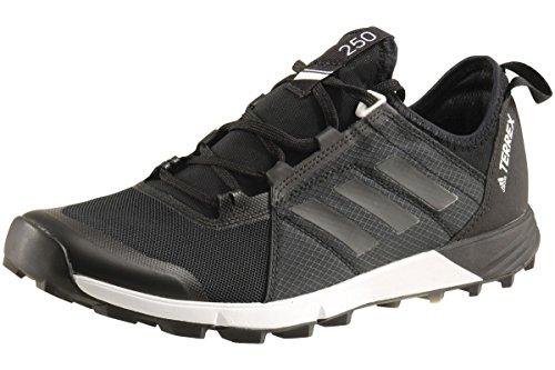 (adidas outdoor Men's Terrex Speed Black/Black/White 11 D US)