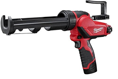 Milwaukee Electric Tool 2441-21 M12 Caulk Gun Kit, 12 V