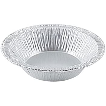 Silver Aluminum Foil Tart Pan 3  (Pack of 100) Disposable Mini Pie Tin  sc 1 st  Amazon.com & Amazon.com: 4 1/4