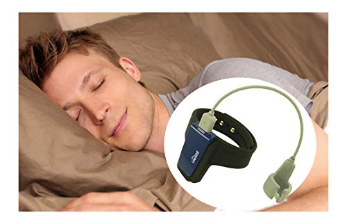LOOKEE Sleep-Wrist Oxygen Tracker with Notification for Low O2 Saturation Level and Heart Rate, Free APP Report for Overnight Sleep Insights. for Wellness, Sports and Aviation use only (Best Wrist Sleep Tracker)