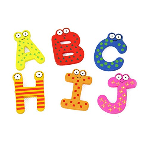 - 26pcs Refrigerator Magnets Kids Baby Early Education Toy Cartoon Alphabet Letters Blackboard - Morty Adult Photo Philadelphia Different Dogs Toddler Magnets Holidays Novelty Ext