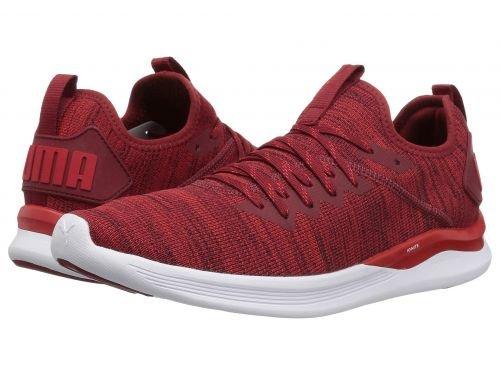 PUMA(プーマ) メンズ 男性用 シューズ 靴 スニーカー 運動靴 Ignite Flash evoKNIT - Red Dahlia/High Risk Red/Puma White [並行輸入品] 11.5 D - Medium  B07C96HR8L