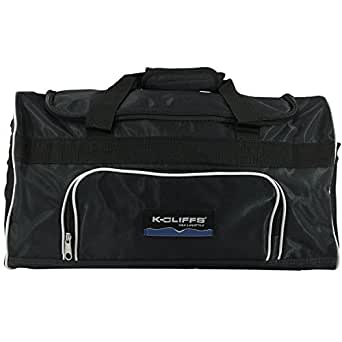 Sport Duffel Bag Fitness Gym Bag Luggage Travel Bag Sports Equipment Gear Bag (Black)
