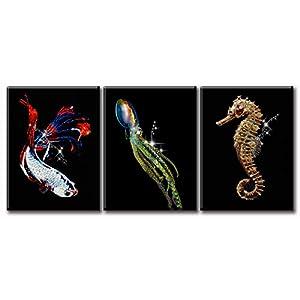 41UZSYctb4L._SS300_ Seahorse Wall Art & Seahorse Wall Decor