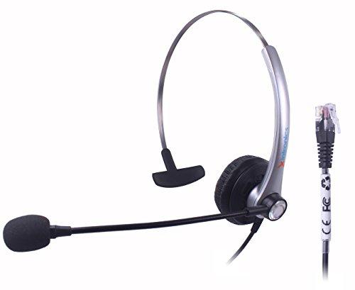 Xintronics RJ9 headset for Nortel Networks Nothern Telecom Meridian PBX Norstar M7208 M7310 M7324 T7208 T7316 M7900 Nec Electra Elite DTU DPT Series E Mitel Siemens Rolm Polycom Toshiba Avaya IP Phone 6755i Ip Phone