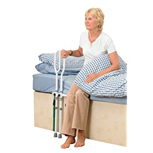 Homecraft Bed Grab Rail, Eligible for VAT Relief in the UK, Secure Height Adjustable Rail, Help Getting In and Out of… 26