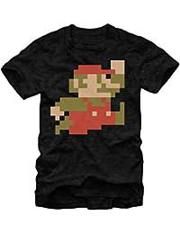 Super Mario Bros 8-Bit Pixel Sprite T-Shirt