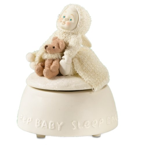 Department 56 Snowbabies Celebrations Sleep Baby Sleep Music Box