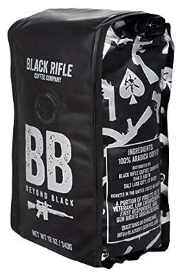 Ground Coffee by Black Rifle Coffee Company | Dark Roast, Medium Roast, French Roast, Espresso, Black | Perfect Coffee Lovers Gift and Man Crate Addition by Black Rifle Coffee Company