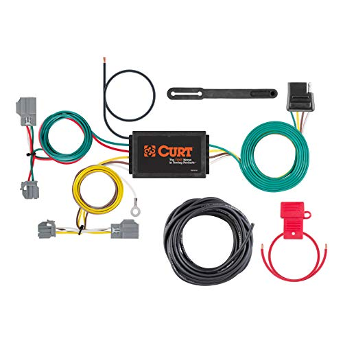 Ford Focus Wiring Harness - Curt Manufacturing 56138 Vehicle-Side Custom 4-Pin Trailer Wiring Harness, Select Ford Focus