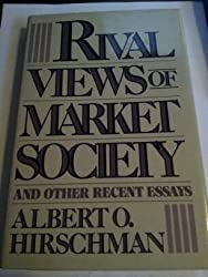 Rival Views of Market Society