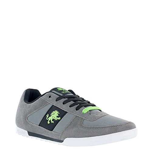 Vlado Footwear Men's Core Suede & Nylon Low Top Low Top Sneaker Grey clearance new styles buy cheap limited edition largest supplier for sale order clearance online zfr7w6