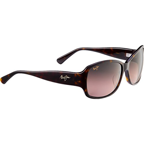 Maui Jim Nalani 295 Sunglasses, Dark Tortoise / Rose Lens, Sunglasses