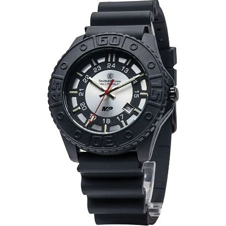 smith-wesson-mens-sww-mp18-gry-mp-swiss-tritium-h3-silver-dial-rubber-band-watch