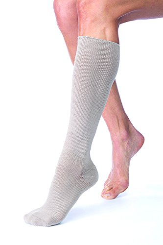 FarrowHybrid ADI ADII Liner/Sock, Foot Compression, BSN Jobst FarrowMed (Class1-Med, Taupe) - Adi Dress