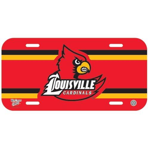 University Christmas Plate (NCAA University of Louisville License Plate)
