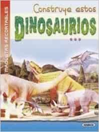 DINOSAURIOS-MAQUETAS RECORTABLES: 9788430575770: Amazon.com ...