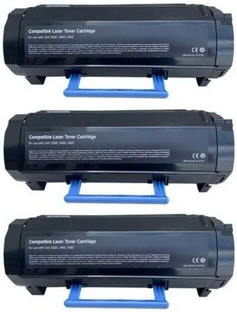 HY2830J/_3PK 3//PK-20000 Page Yield SuppliesMAX Compatible Replacement for Dell S2830DN Black Jumbo High Yield Toner Cartridge