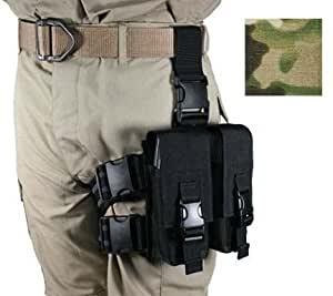 Specter Gear 30-Round Magazine 4 Mil-Spec Tactical Thigh Rig, Multicam, 5.56mm