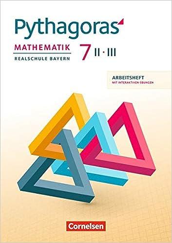 Pythagoras 7 II/III – Arbeitsheft mit interaktiven Übungen,
