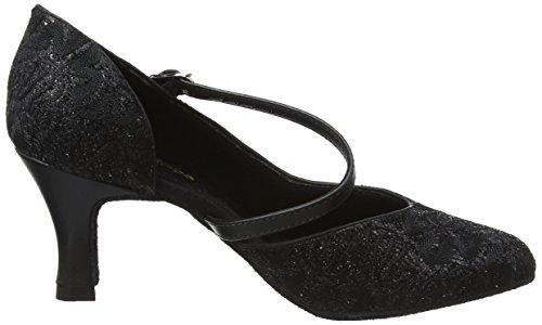 Bl504 Femme De Chaussures Salon So black Noir Danse Danca Sparkle pq5wY