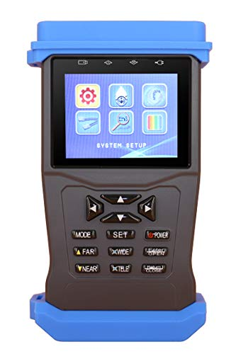 Camera CCTV Security Monitor Tester, Cable Wire