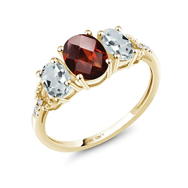 Gemsonclick Natural Citrine Sterling Silver Ring Band Oval Chakra Healing Birthstone Jewelry Sizes 4-13