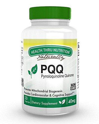 PQQ 40mg Vegecaps Pyrroloquinoline Quinone