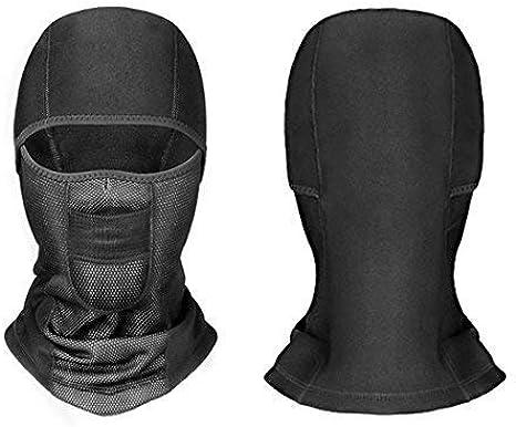 RJ Unique Neck Balaclava,God/_Zilla Easy Windproof Sports Mask,Balaclava Neck Warm Comfortable Neck Bandanas For Mountain Running Climbing,24x52cm