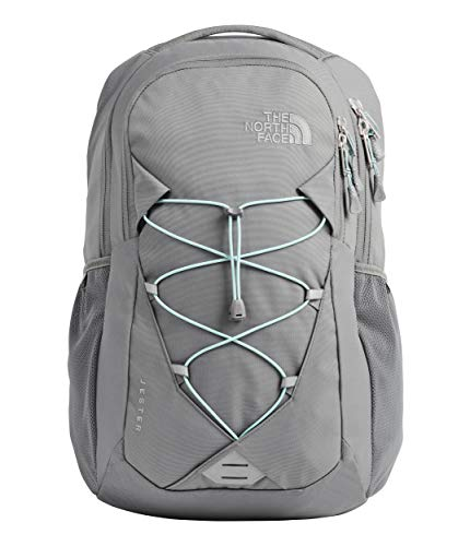 The North Face Women's Jester Backpack, Zinc Grey/Windmill Blue