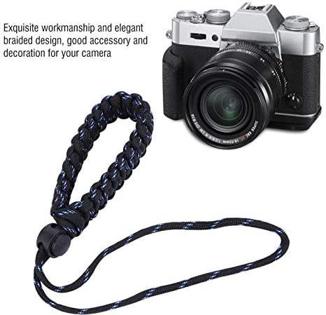 Value-5-Star Nylon Portable Adjustable Wrist Hand Strap Cord with Braided Design for DSLR SLR Cameras Carrying Accessory Part