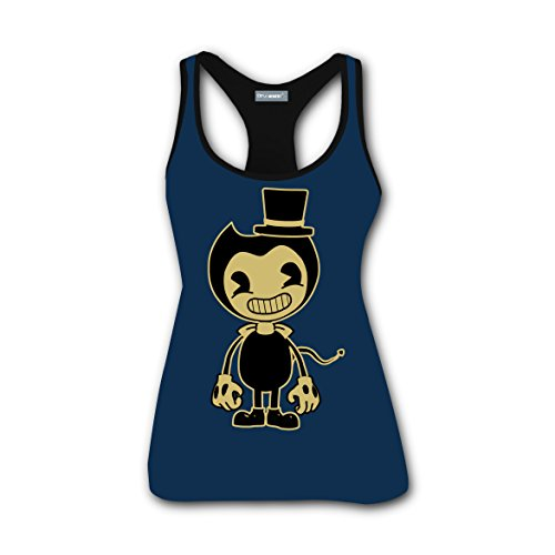 Custom Bend Machine Game Women Scoop-Neck Tank Top Tees Tanks Camis (Adam Levine Halloween Party)