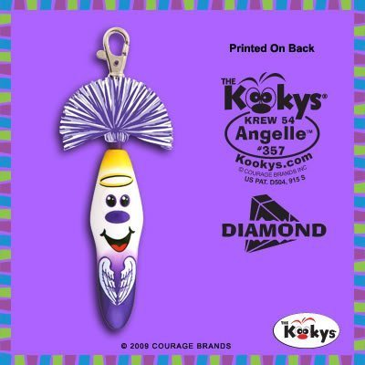 (Kooky Klicker Pen Keychain Krew 54 Angelle New by Kooky)