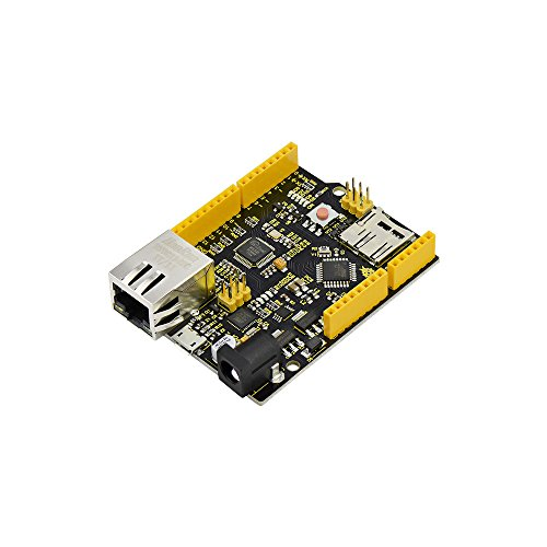 KEYESTUDIO W5500 Ethernet Development Board with USB Cable(Without Poe) for Arduino by KEYESTUDIO (Image #6)