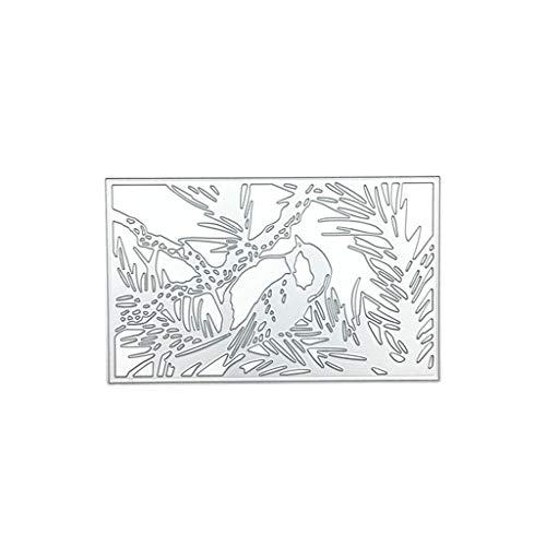 Birds Design Die Cut Metal For Scrapbooking Album DIY Paper Cards PV