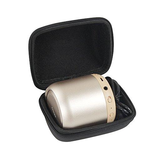 Hermitshell Hard EVA Travel Case Fits Anker SoundCore Mini Super-Portable Bluetooth Speaker (Black)