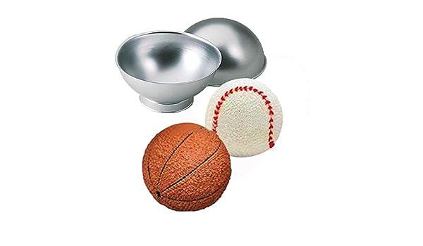 3D Sportball Zinn Kuchenform Ewendy Creative Pasteles Schimmel ...