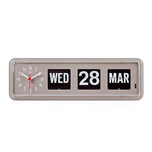 Retro Calendar Wall Clock - 1