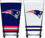 NFL New England Patriots Mixing Glass, 2-Pack