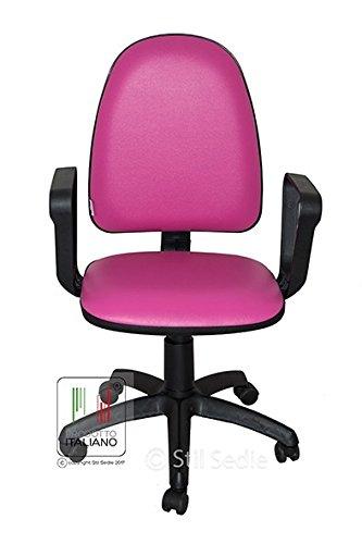Sedie Girevoli Per Camerette Prezzi.Stil Sedie Sedia Girevole Videoterminalista Ufficio Scrivania