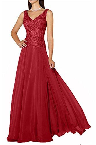 Royal Langes Glamour La Blau Marie Neuheit Ballkleider Rot Spitze Braut Abendkleider Brautmutterkleider RwqStXSZ6