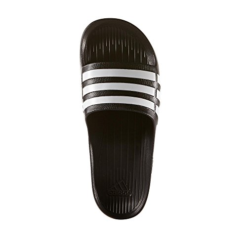 Da Slide Duramo Unisex noir Noir Adulto Ciabatte Adidas blanc atAwPxq