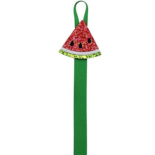 Bow Holders for Girls, Nancyus005 Hair Bow Holder Organizer Hanger - 22 Inch Long, Watermelon