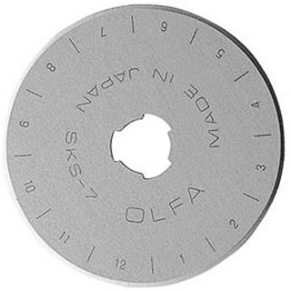 Olfa Rotary Blade Refill (5 per Package) - 45 Millimeters by OLFA