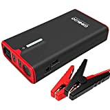 GOOLOO 1200A Peak SuperSafe Car Jump Starter with USB Quick Charge 3.0 (Up to 8.0L Gas or 6.0L Diesel Engine), 12V Portable Power Pack Auto Battery Booster Phone Charger Built-in LED Light