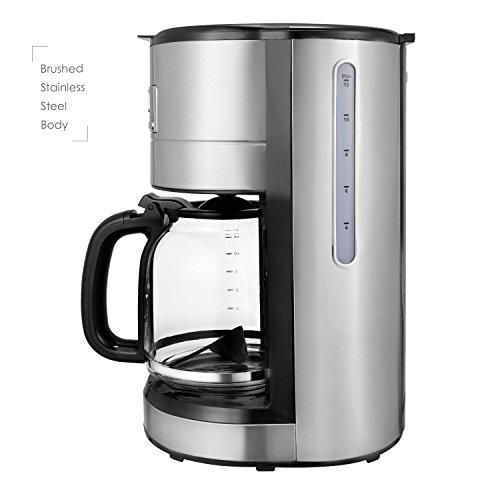 Coffee Maker Without Pot : Aicok Coffee Maker, 12 Cup Best Coffee Maker with Coffee Pot, Programmable Coffee Maker with ...