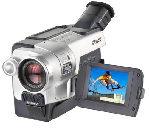 Sony Hi8 Camcorder 8mm Video Player CCD-TRV118 Sony Handycam Hi8 Video Player (Renewed)