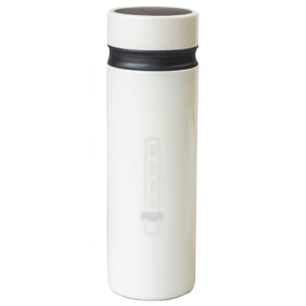 DXIUMZHP Thermos Thermos, Large Capacity Thermos, Environmentally Safe 316 Stainless Steel, 24-Hour Insulation, Birthday Gifts (Color : White) by DXIUMZHP