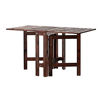 Ikea Gartentisch Holz.Ikea Wetterfester Holz Klapptisch äpplarö Gartentisch Aus Massivem Akazienholz 20 77 133x62cm
